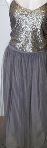 NWT 2 Piece Charcoal formal dress size 16